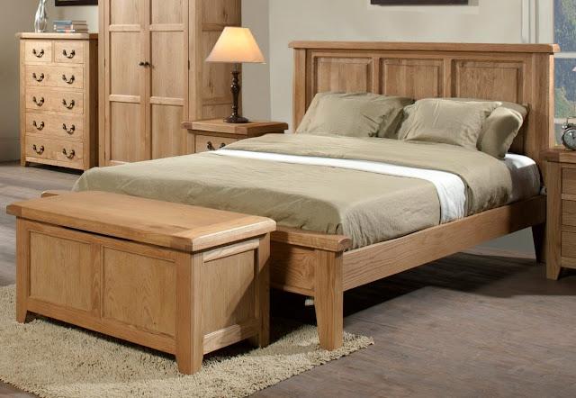Kiểu giường ngủ thiết kế theo phong cách nội thất hiện đại đơn giản nhưng rất tinh tế