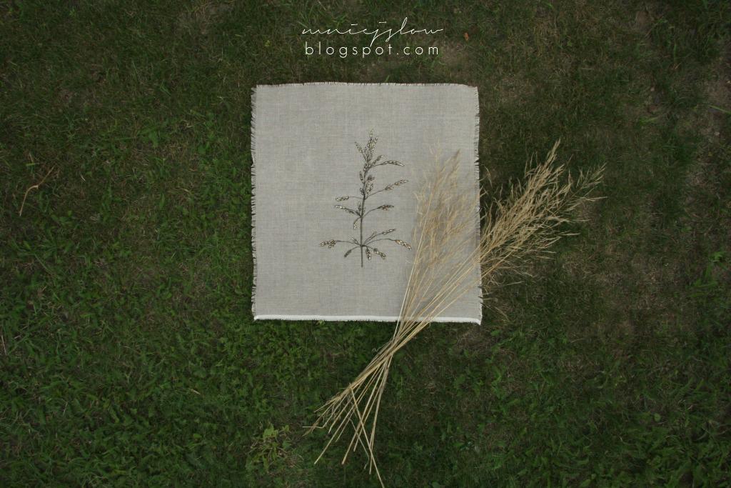 DMC Linen Thread Plants #1