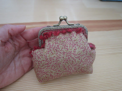 monedero, purse, porte monnaie, costura, couture, sewing, boquilla, clasp