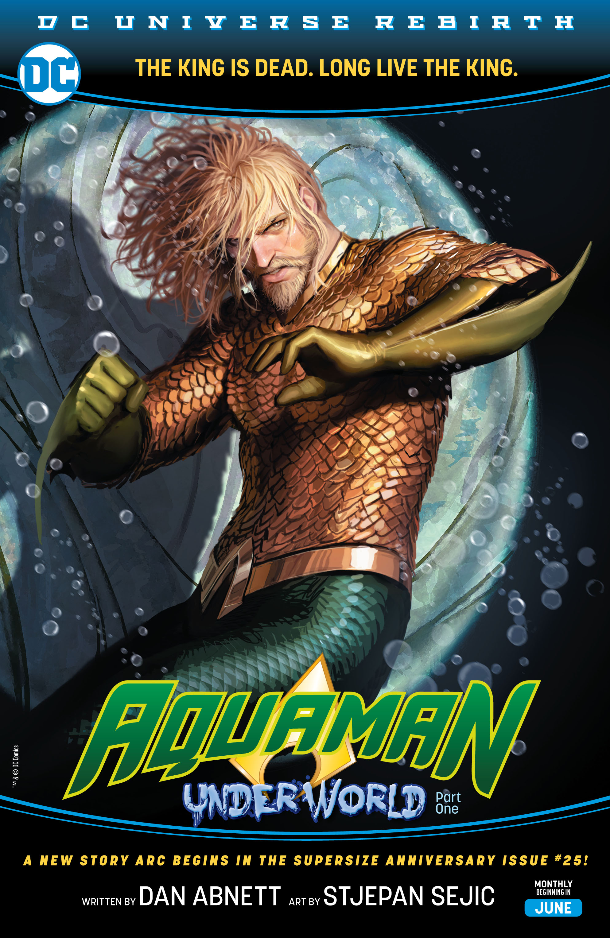 Read online Aquaman (2016) comic -  Issue #25 - 2