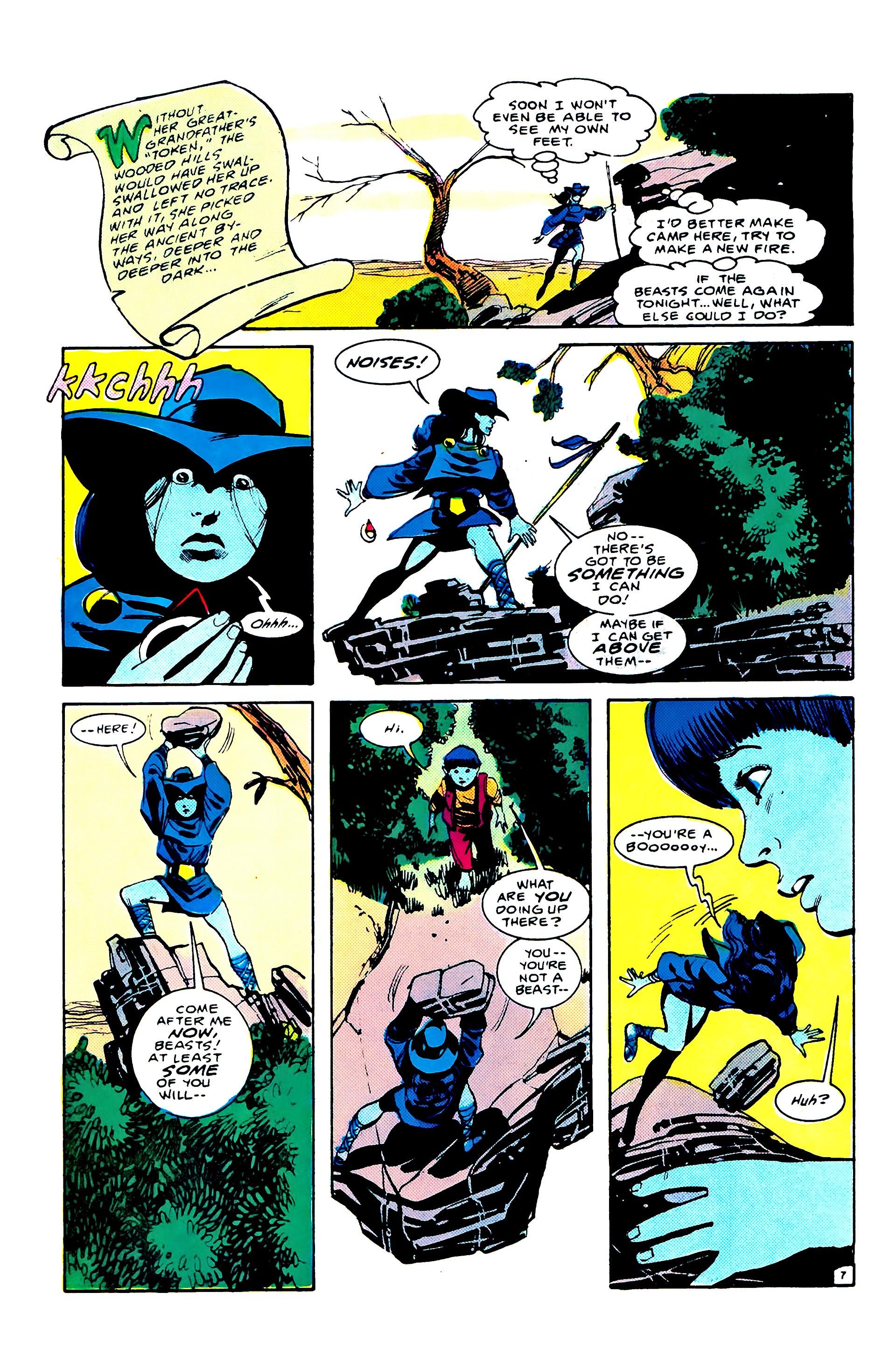 Read online Secret Origins (1986) comic -  Issue #8 - 11