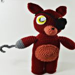 http://www.ravelry.com/patterns/library/fnaf-foxy-amigurumi---video-tutorial