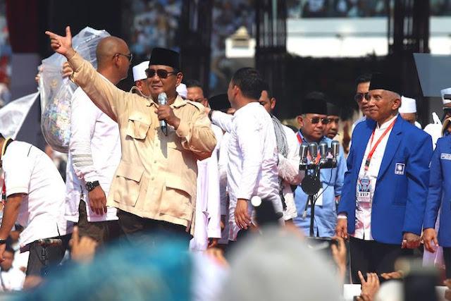 Elektabilitas Mulai Unggul, Ini Pesan Prabowo kepada Pendukungnya