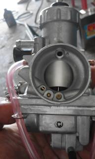 Gambar dari depan karburator Rxz