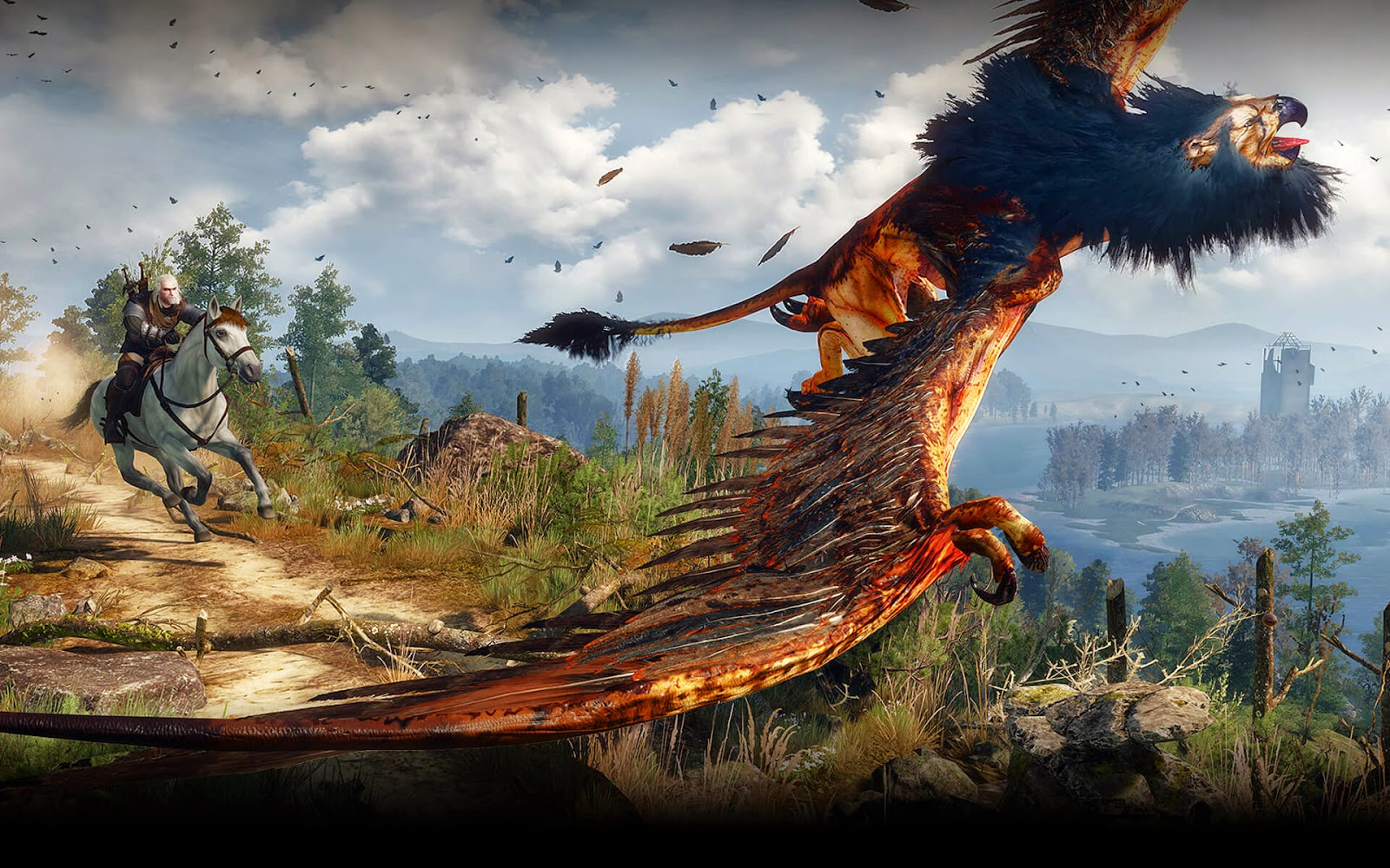 The Witcher 3 Monster Auge