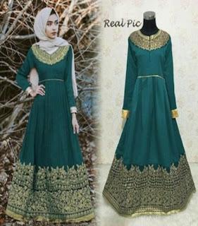 model baju batik hijab modern