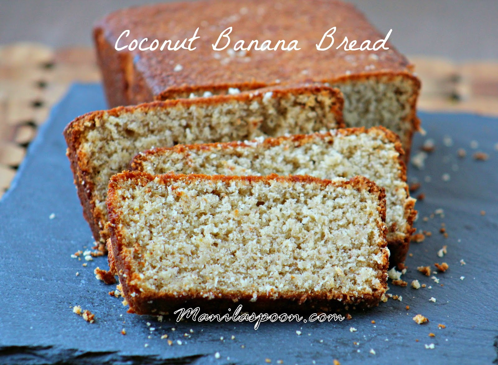 Coconut Banana Loaf (Bread)