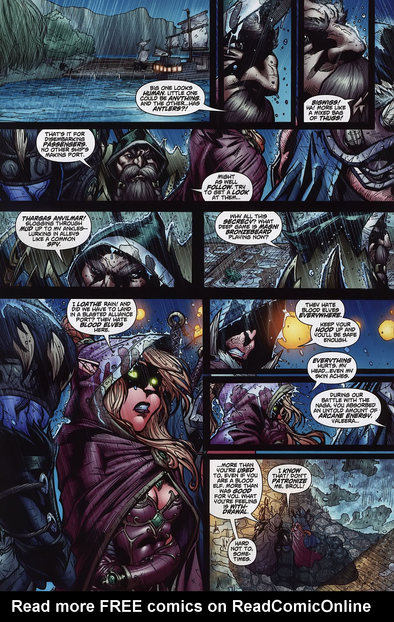 Read online World of Warcraft comic -  Issue #8 - 7