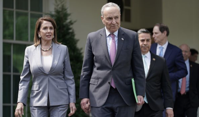 Trump and Democrats agreed $2 trillion is needed for infrastructure, Chuck Schumer says