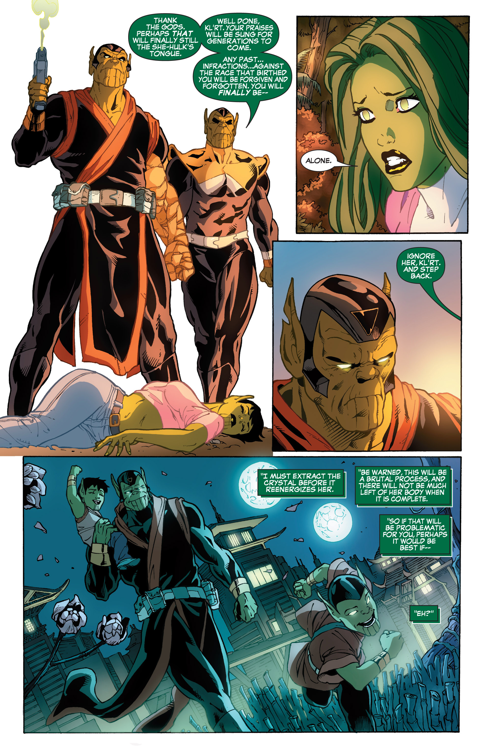 Read online She-Hulk (2005) comic -  Issue #33 - 22