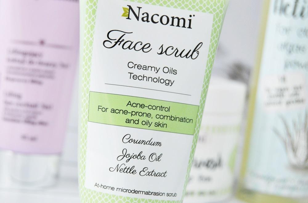 Nacomi Face Scrub - przeciwtrądzikowy peeling do twarzy / Acne-control