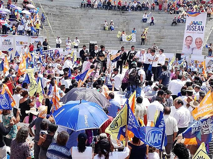Busco el poder para cambiar la realidad de Chiapas: Josean