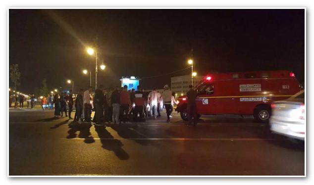 عاجل: حادثة سير خطيرة قرب محطة القطار مغوغة بطنجة