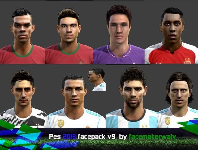 New Facepack PES 2013