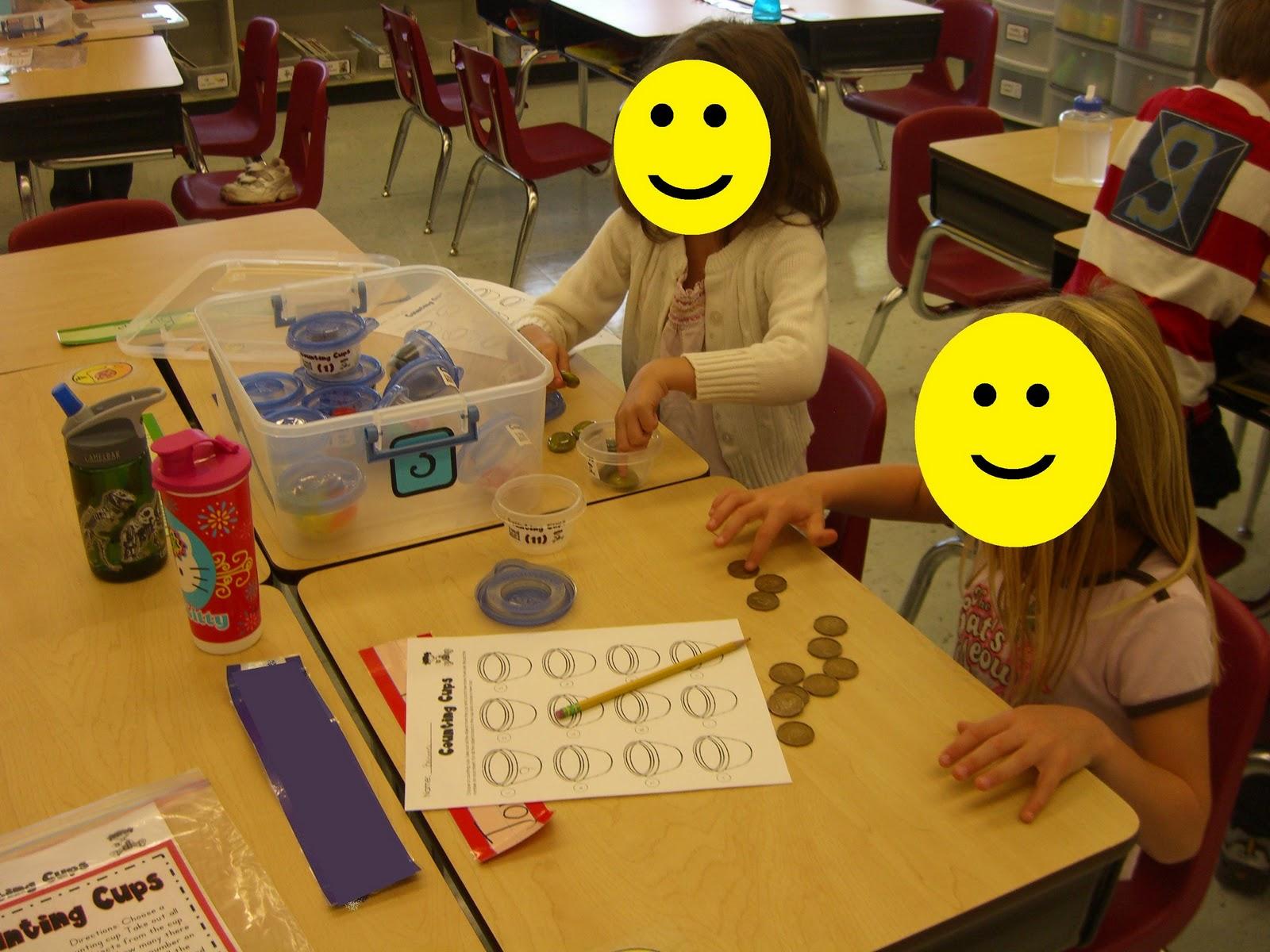 First Grade Garden Math Stations