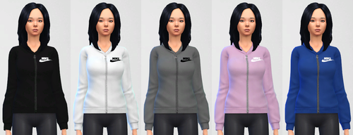BlogNike Panda Females Sims Nekrosts4cc 4 Tops Hoodies By And My For E2We9YDHI
