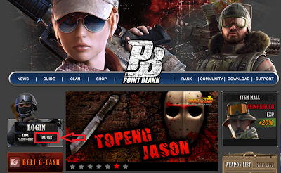 Com Cara Bermain Game Point Blank Game Point Blank Indonesia Cara Daftar Point Blank Online 400x246