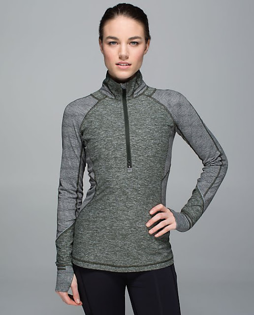 lululemon-race-your-pace-half-zip gator-green