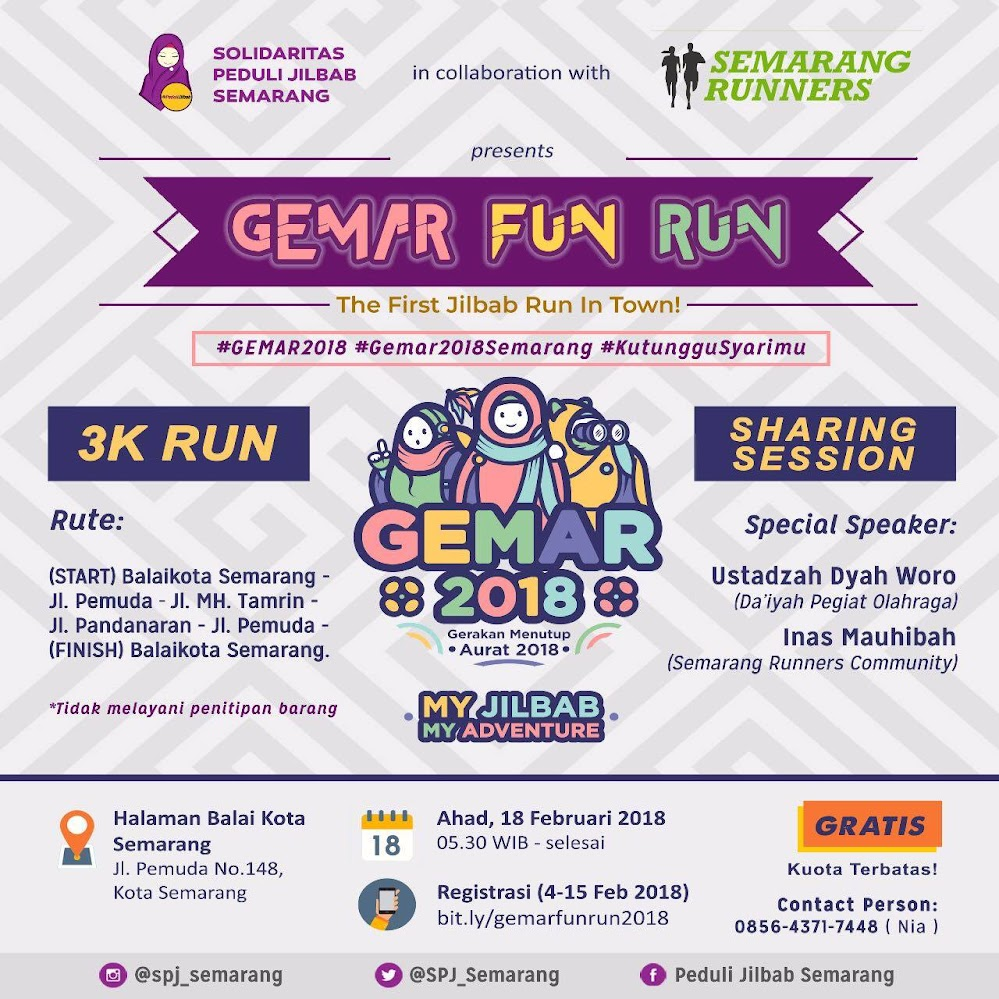 Gemar Fun Run • 2018