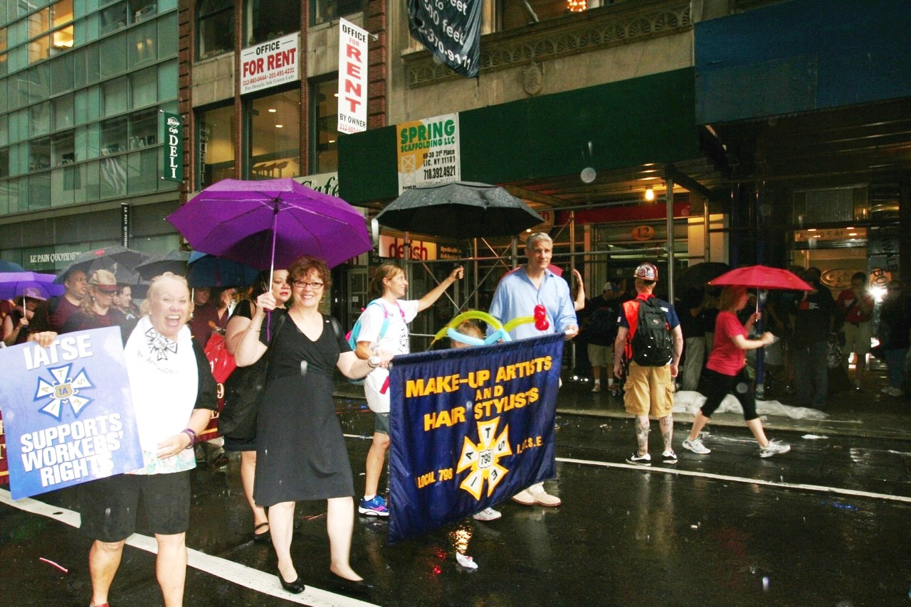 Broadcast Union News: IATSE Members Turned Out In Force For