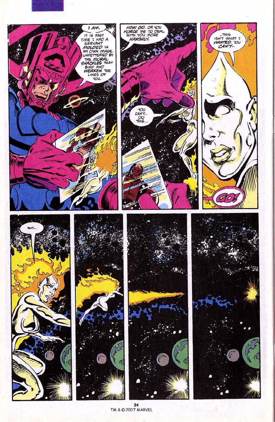 Read online Silver Surfer (1987) comic -  Issue #70 - 26