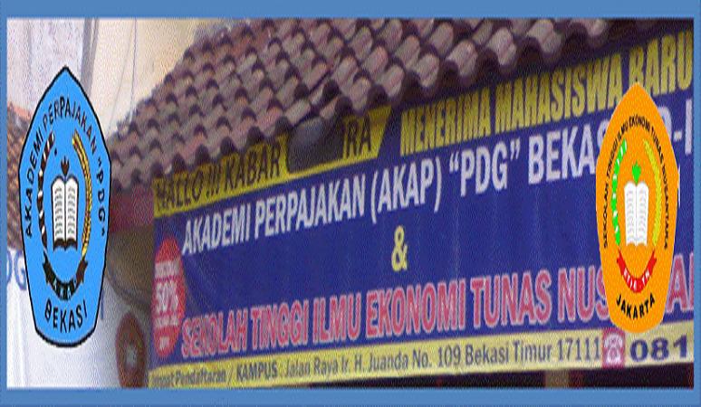 PENERIMAAN MAHASISWA BARU (AKAP PADANG BEKASI) 2019-2020 AKADEMI PERPAJAKAN PADANG BEKASI