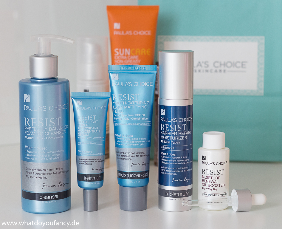 Paulas Choice Skincare Hautpflege Favoriten
