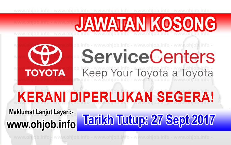 Jawatan Kerja Kosong Toyota Services logo www.ohjob.info september 2017