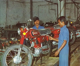 Honda Benly S110