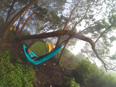 hammockan di gunung panderman