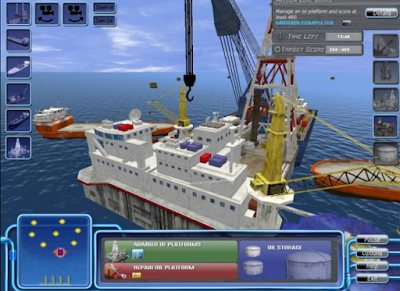 石油平台(Oil Platform Simulator),題材特別的鑽油平台模擬!