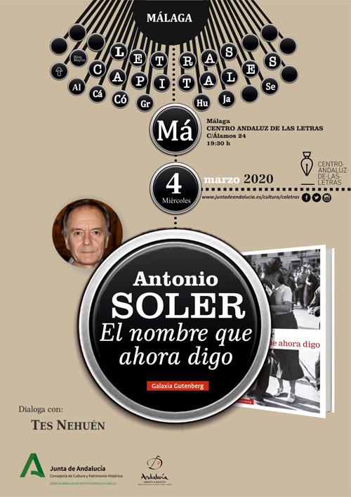 Antonio Soler y Tes Nehuén en Málaga