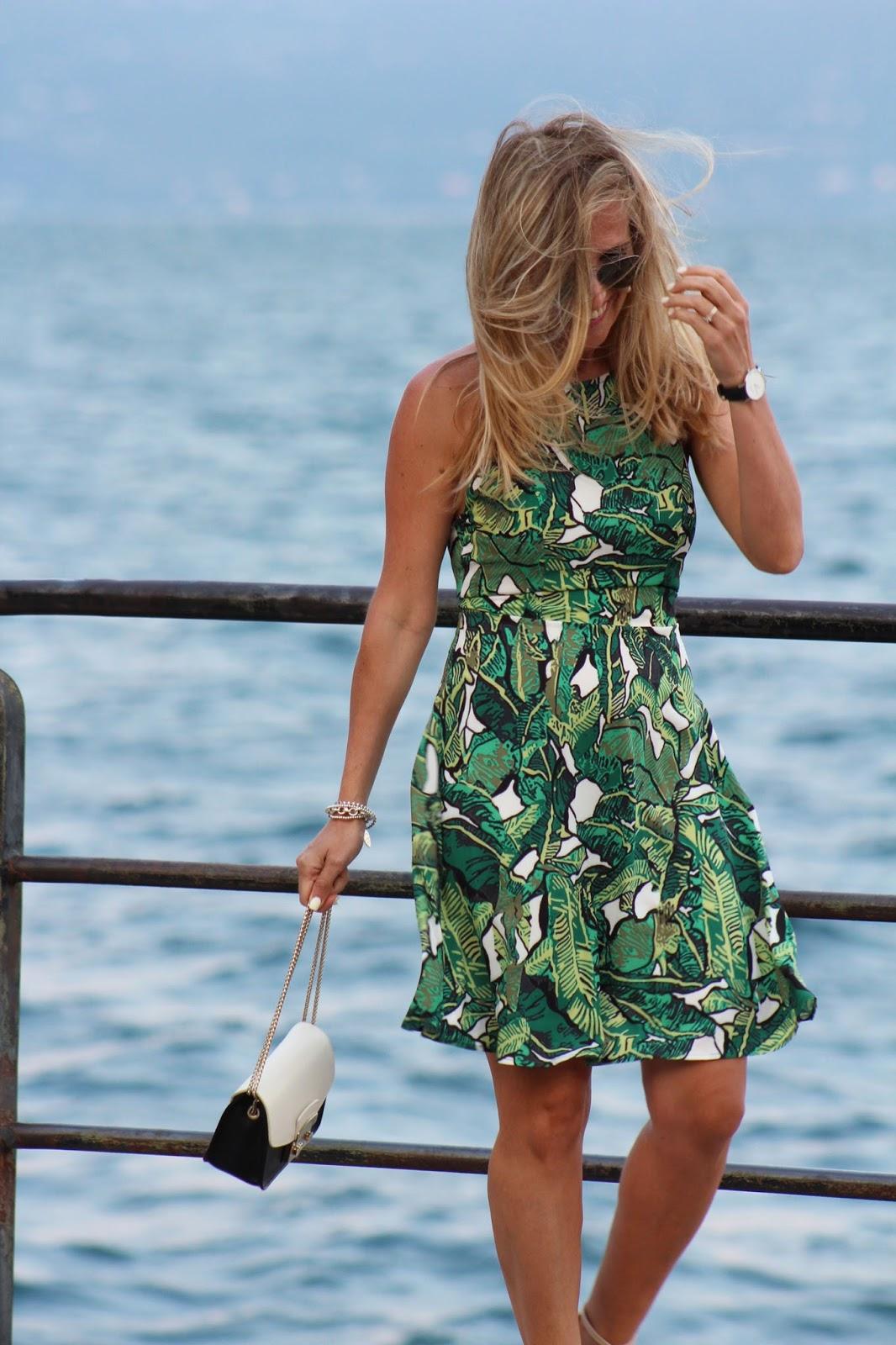 Eniwhere Fashion - SheIn Salò - Green dress