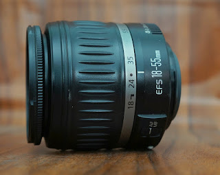 Jual Lensa Kit Canon 18-55mm Bekas