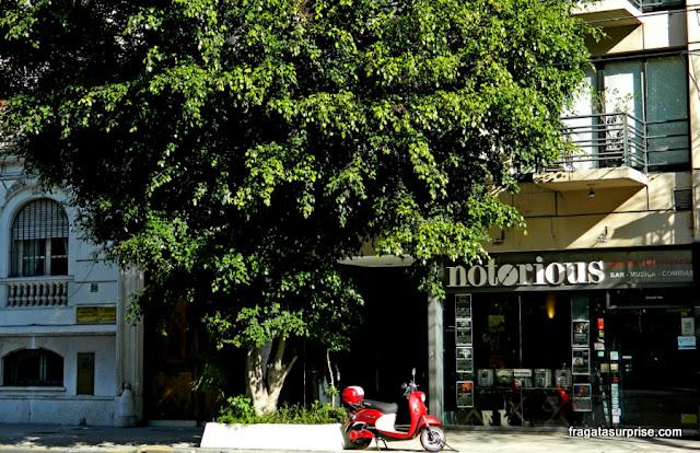 Clube de jazz e loja de discos Notorious, Buenos Aires
