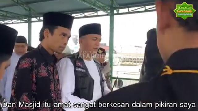 BREAKING NEWS - Ustadz Somad Tegaskan Pilih jadi Ustaz Sampai Mati