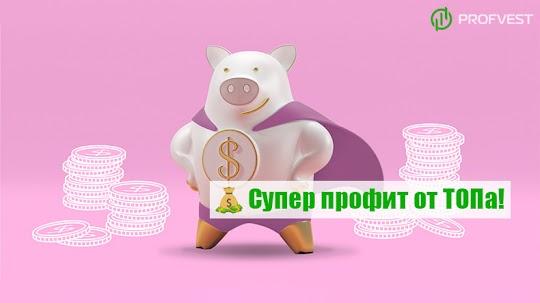 Лидеры: СуперКопилка – 87% чистой прибыли за 35 дней работы!