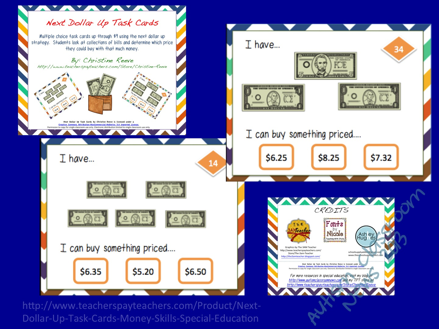 Shopping Next Dollar Worksheet