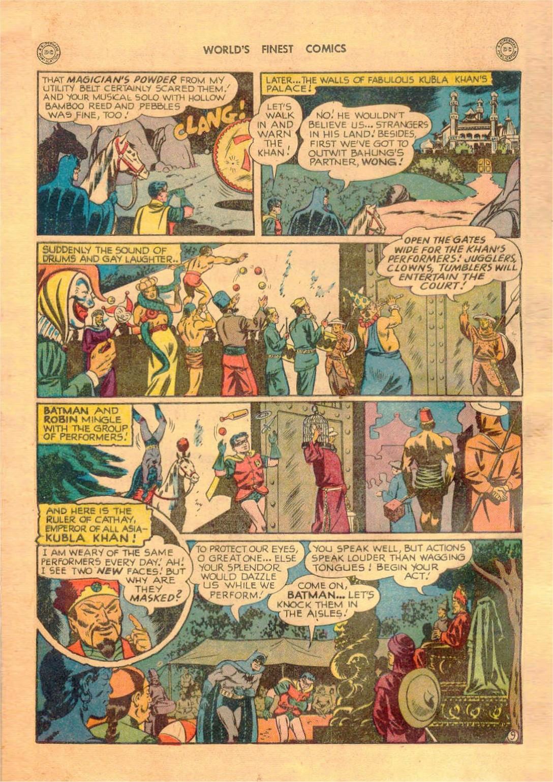 Read online World's Finest Comics comic -  Issue #42 - 70