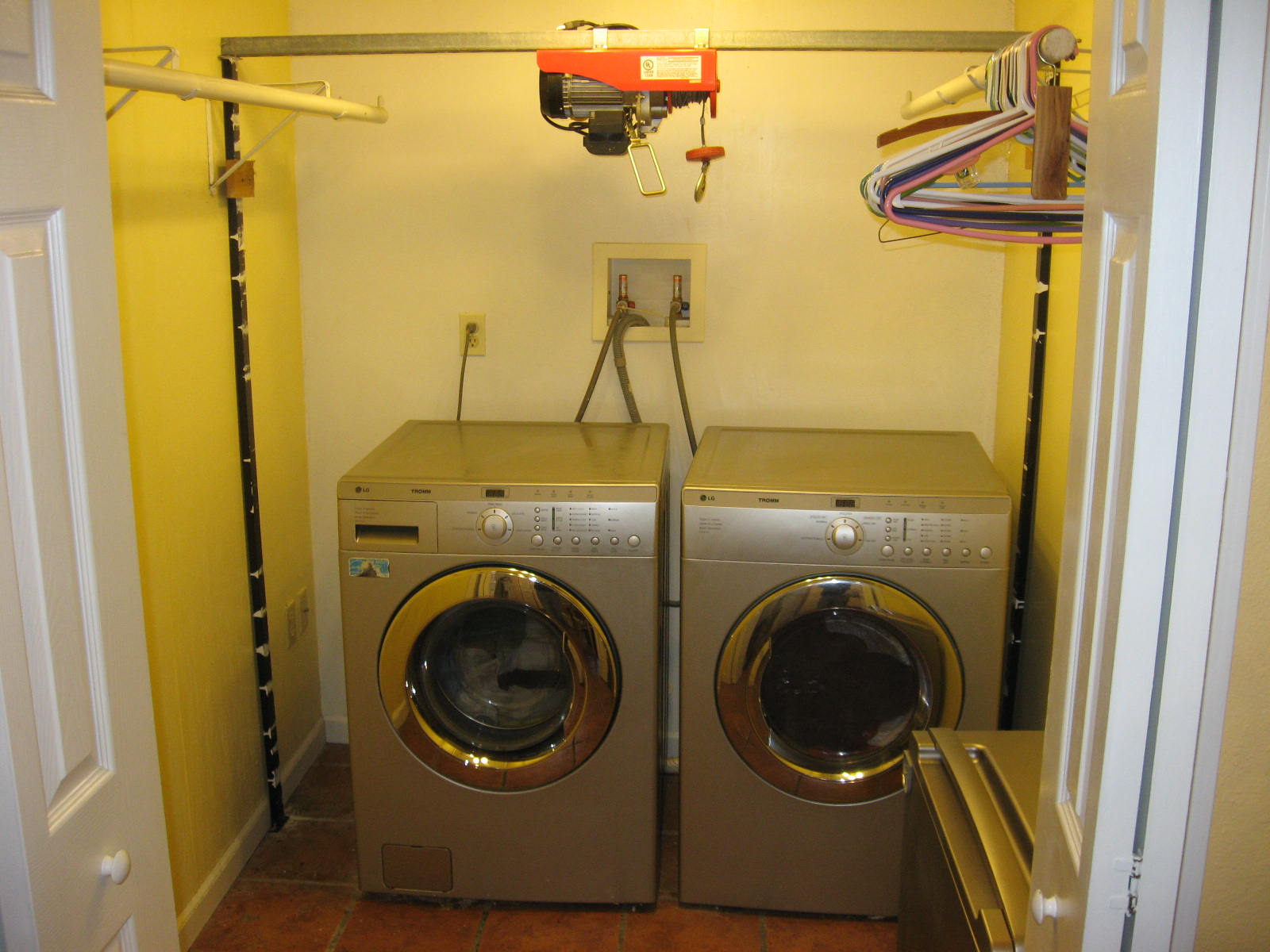 Home N Auto Painting And Installing Used Lg Washer And