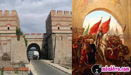 pintu gerbang Constantinople