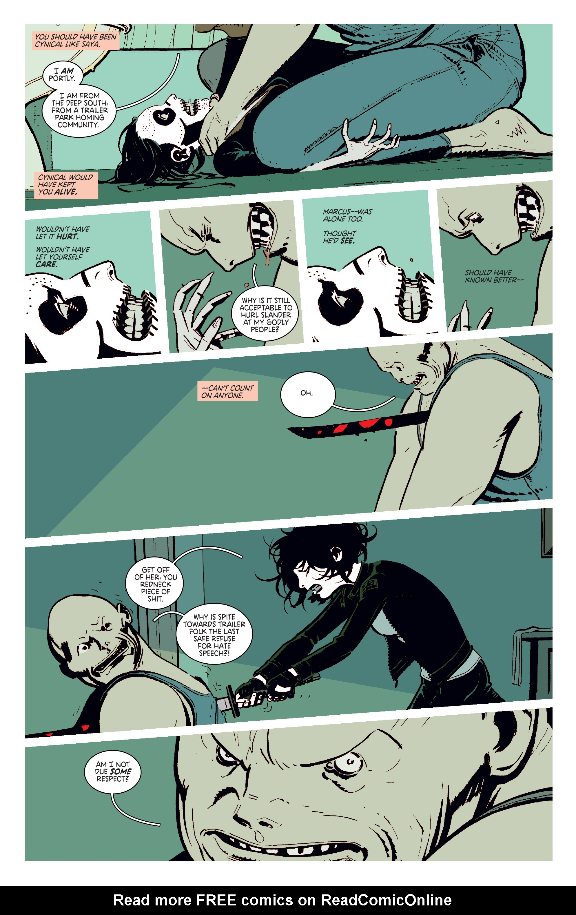 Read online Deadly Class comic -  Issue #11 - 16