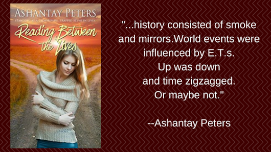 Review of READING BETWEEN THE LIVES by Ashantay Peters #timetravel #romance #5starread