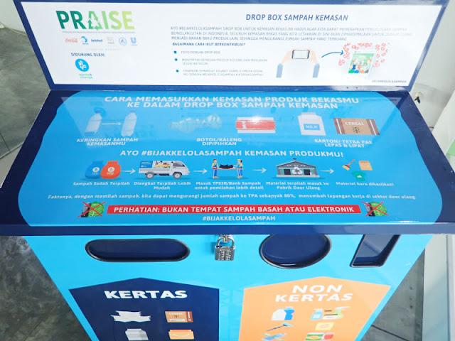 PRAISE dan Waste4Change Meluncurkan 100 Dropping Box untuk Membantu Memilah dan Mendaur Ulang Sampah