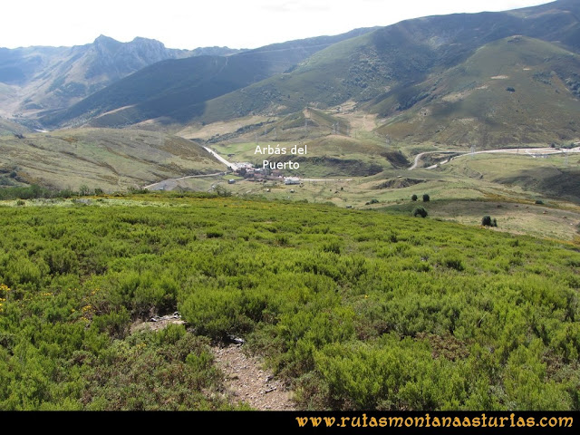 Ruta Pico Cellón: Bajando del Cellón a Arbás del Puerto
