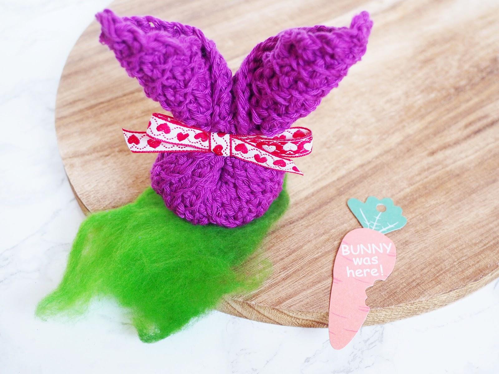 Spültuch - Abwaschlappen - Topflappen Strickanleitung in Hasenform mit doppeltem Faden aus rico baby cotton soft Baumwolle