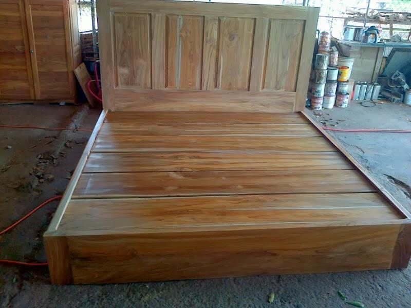 Grupo fung cama teca se vende cama king de teca teak - Muebles de madera teca ...