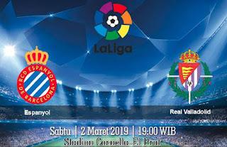Prediksi Espanyol vs Real Valladolid 2 Maret 2019