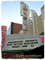 El Rey Theatre, Los Angeles, 6/22/2012