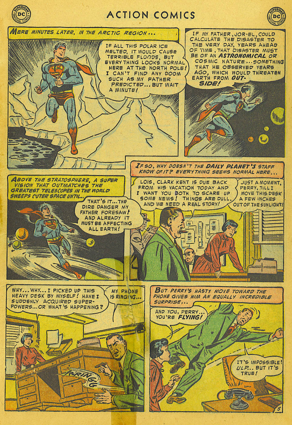 Read online Action Comics (1938) comic -  Issue #186 - 7